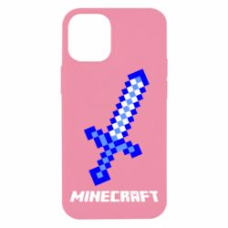Чехол для iPhone 12 mini Меч Minecraft