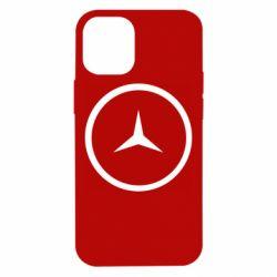 Чехол для iPhone 12 mini Mercedes new logo