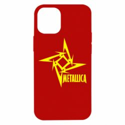 Чехол для iPhone 12 mini Metallica Logotype