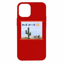 Чохол для iPhone 12 mini Mexico art