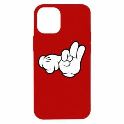 "Чехол для iPhone 12 mini Mickey Mouse Hands ""Chop-chop"""
