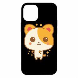 Чехол для iPhone 12 mini Милая кися