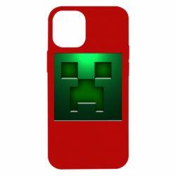 Чехол для iPhone 12 mini Minecraft Face