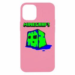 Чохол для iPhone 12 mini Minecraft Head