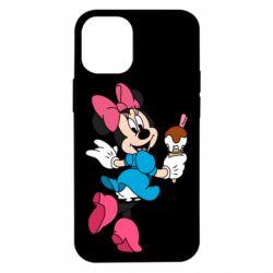 Чехол для iPhone 12 mini Minnie Mouse and Ice Cream