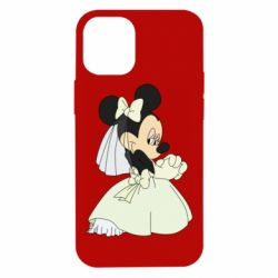 Чехол для iPhone 12 mini Minnie Mouse Bride