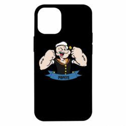 Чехол для iPhone 12 mini Моряк Папай