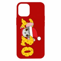 Чехол для iPhone 12 mini Mouse and 2020 in the form of cheese