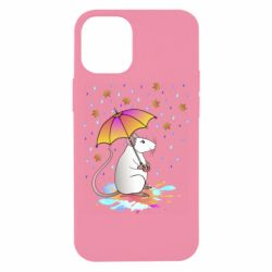 Чохол для iPhone 12 mini Mouse and rain