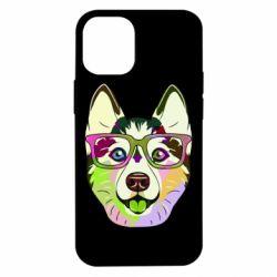 Чохол для iPhone 12 mini Multi-colored dog with glasses