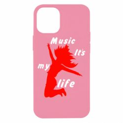 Чохол для iPhone 12 mini Music it's my life
