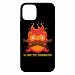 Чохол для iPhone 12 mini MY HEART ONLY  BURNS FOR YOU