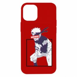 Чехол для iPhone 12 mini Naruto Hokage glitch
