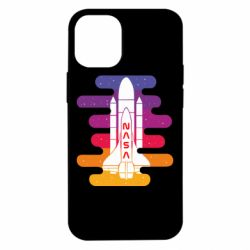 Чохол для iPhone 12 mini NASA rocket in space