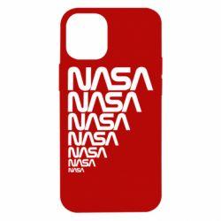 Чехол для iPhone 12 mini NASA