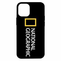 Чехол для iPhone 12 mini National Geographic logo