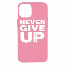 Чехол для iPhone 12 mini Never give up 1