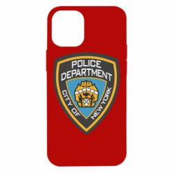 Чехол для iPhone 12 mini New York Police Department