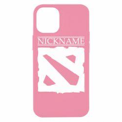 Чехол для iPhone 12 mini Nickname Dota