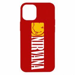 Чехол для iPhone 12 mini Nirvana смайл