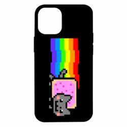 Чохол для iPhone 12 mini Nyan cat