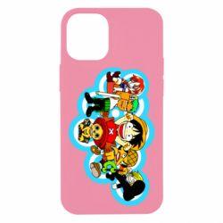 Чохол для iPhone 12 mini One piece anime heroes