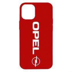 Чехол для iPhone 12 mini Opel Logo