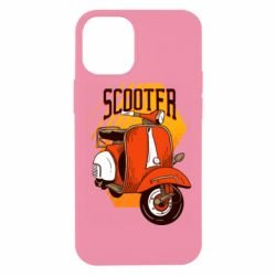 Чохол для iPhone 12 mini Orange scooter