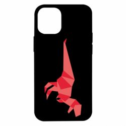 Чехол для iPhone 12 mini Origami dinosaur