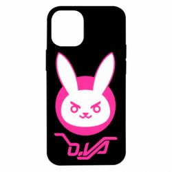 Чехол для iPhone 12 mini Overwatch dva rabbit