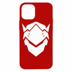 Чехол для iPhone 12 mini Overwatch Genji