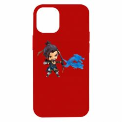 Чехол для iPhone 12 mini Overwatch Hanzo Chibi