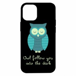 Чехол для iPhone 12 mini Owl follow you into the dark