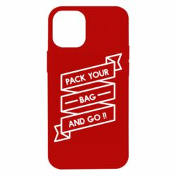 Чехол для iPhone 12 mini Pack your bag and go