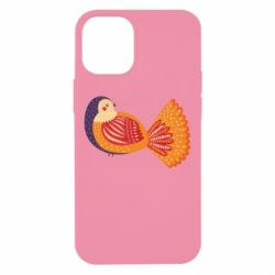 Чохол для iPhone 12 mini Painted with patterns Bird