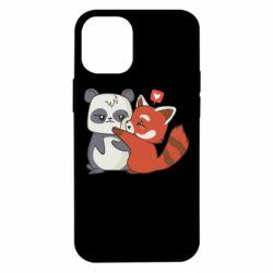 Чохол для iPhone 12 mini Panda and fire panda