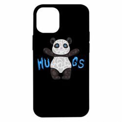 Чехол для iPhone 12 mini Panda hugs