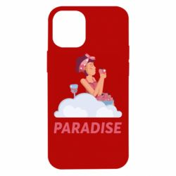 Чехол для iPhone 12 mini Paradise apple and wine