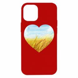 Чохол для iPhone 12 mini Пейзаж України в серце