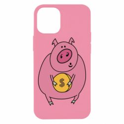 Чохол для iPhone 12 mini Pig and $