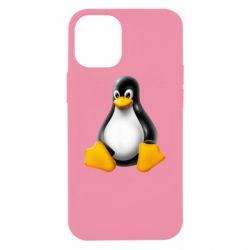 Чохол для iPhone 12 mini Пингвин Linux