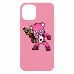 Чохол для iPhone 12 mini Pink bear