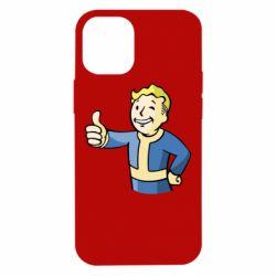 Чехол для iPhone 12 mini Pip boy fallout