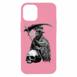 Чехол для iPhone 12 mini Plague Doctor graphic arts