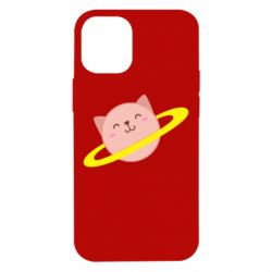 Чехол для iPhone 12 mini Planet Cat