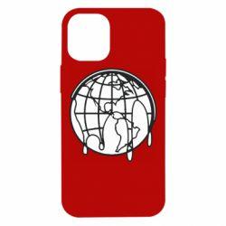 Чехол для iPhone 12 mini Planet contour