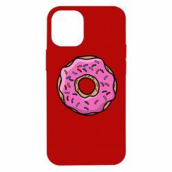 Чехол для iPhone 12 mini Пончик Гомера