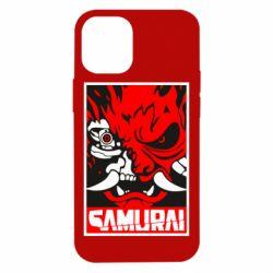 Чохол для iPhone 12 mini Poster samurai Cyberpunk