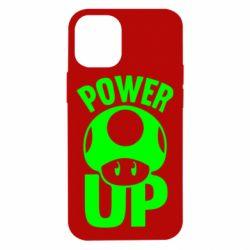 Чехол для iPhone 12 mini Power Up гриб Марио