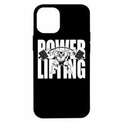 Чехол для iPhone 12 mini Powerlifting logo
